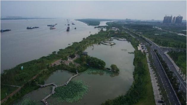 12公里的浦口新城滨江风光带-南京城市总体规划获批 江北新区腾飞要