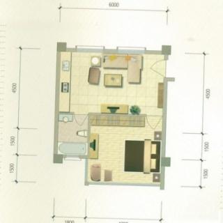 度假公寓B3户型