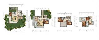 别墅A4户型图