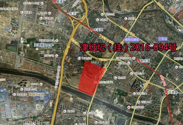 天津红桥区规划图高清