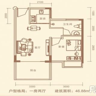 14号楼2号平面层