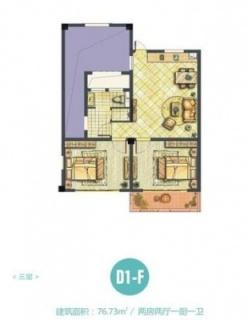 D1-F海子洋房户型
