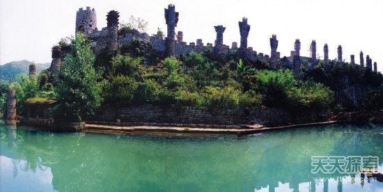 老人20年隐居山谷 徒手建城堡让人羡慕 - 子泳 - 子泳WZ的博客