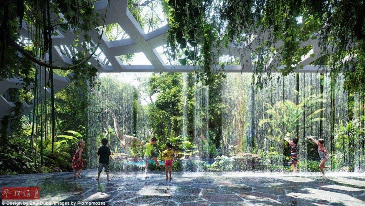 探访全球第一家拥有热带雨林的酒店 造价19.7亿 - 子泳 - 子泳WZ的博客