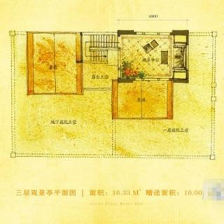 别墅C户型200.65㎡地上三层