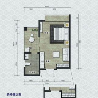 H1户型环景公寓