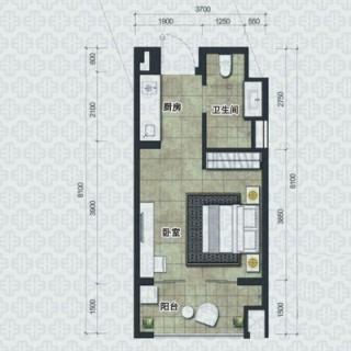 H2户型经典公寓