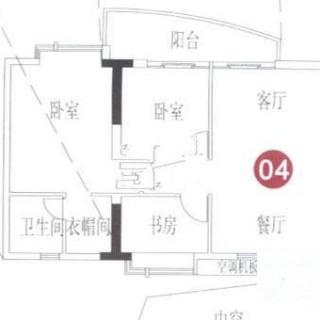 A7栋8-31层04单元户型