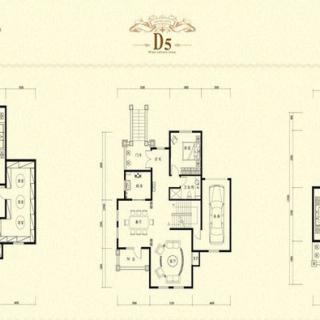 二期别墅D5户型