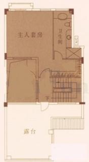 DII型别墅三层