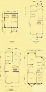 二期坡地别墅K型