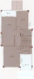E型别墅二层