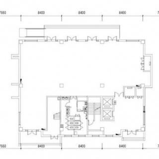 2号楼平面图