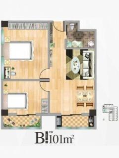 公寓楼B户型