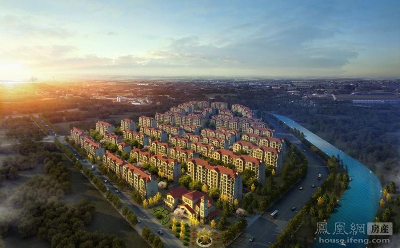 首开香溪郡楼盘环境 - 凤凰房产北京