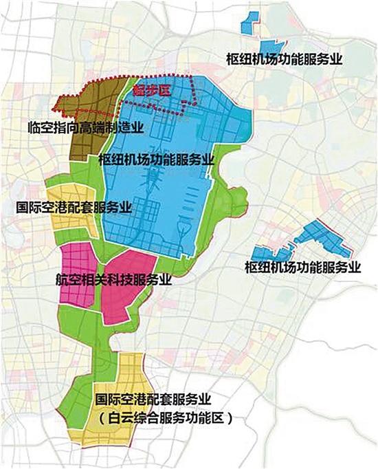 广州空港经济区起步区规划通过 国际航空示范城将崛起