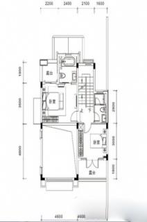 联排别墅B3户型约187平
