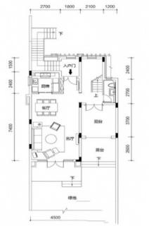 联排别墅A1户型