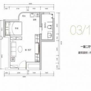 03 19户型37平