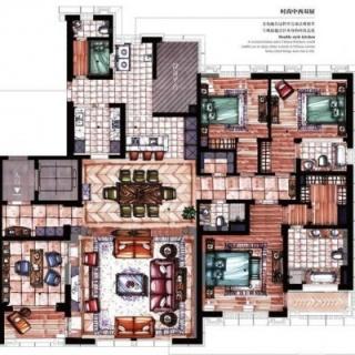 9号楼01室户型