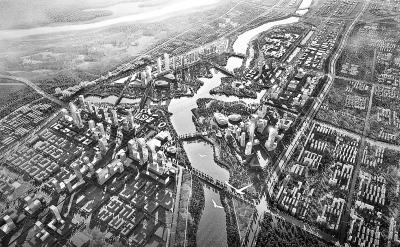 惠济新区作为惠济区重点发展的一个片区,位于黄河大堤以南,江山路以东