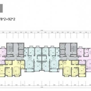 6#楼平面户型图