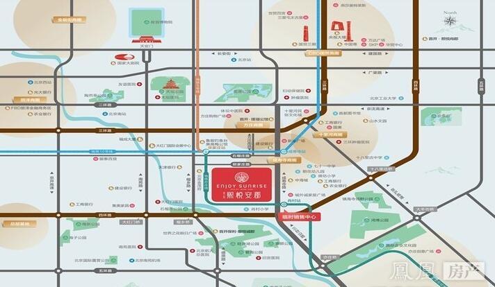 首开住总熙悦安郡规划图2