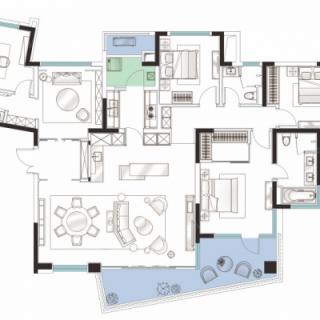 五室两厅三卫