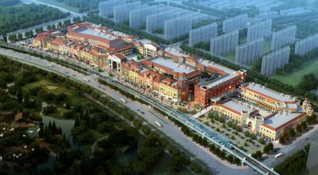 重庆奥特莱斯规划图爆出 助推融创欧麓花园城商业蝶变图片