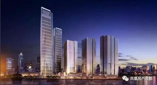 环球中心,银泰中心,复地金融岛一次次刷新成都对高端地标的认识.