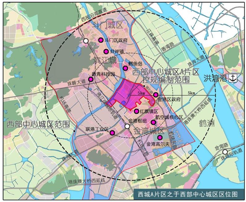 珠海地铁3号线现身 穿过航空新城,西湖城区等