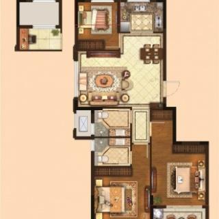 三室两厅两卫90平
