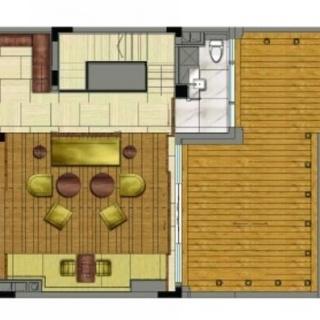 世家墅178平叠加中套户型