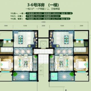 3-6号楼Y3户型
