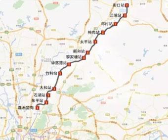 高铁站,1条地铁线路,6条高快速路,17条旅游专线,将形成从化到广州中心