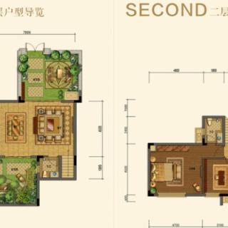 三期别墅A1户型