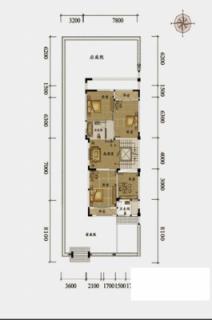 双拼别墅U-1户型