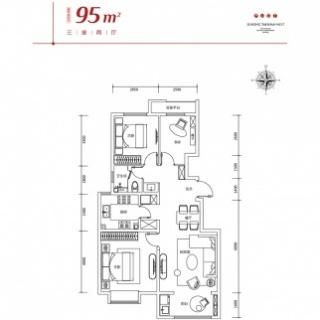 95平米洋房