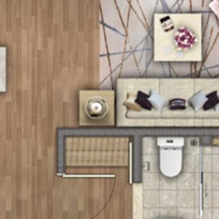 高层公寓90平米