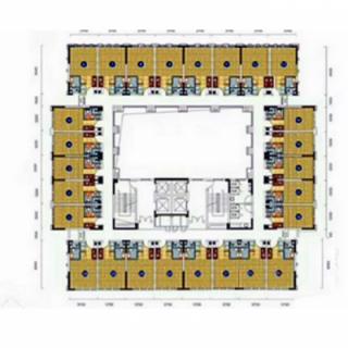 建面约31-36㎡公寓户型