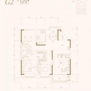 3室2厅2卫-125平米
