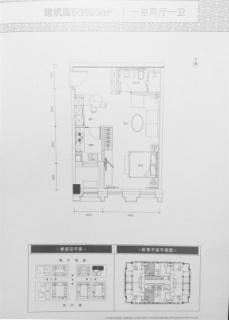 公寓10号楼C户型