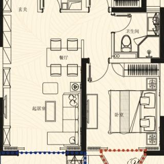 H1 2房2厅1卫