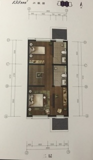 联排别墅138平二层