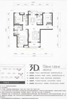 1、5、9号楼3D户型