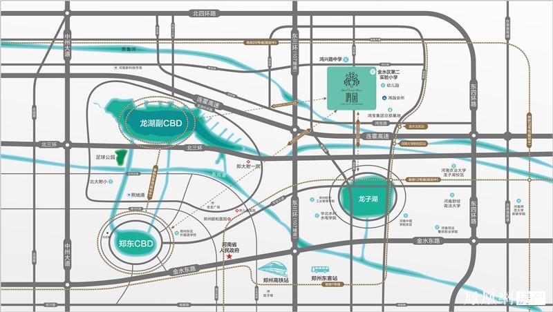 鸿园规划图
