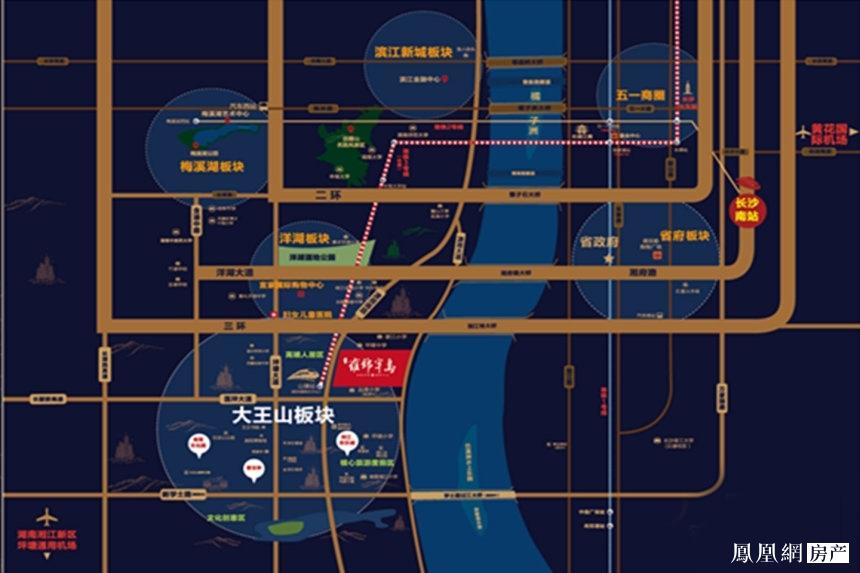 蓝光雍锦半岛规划图2