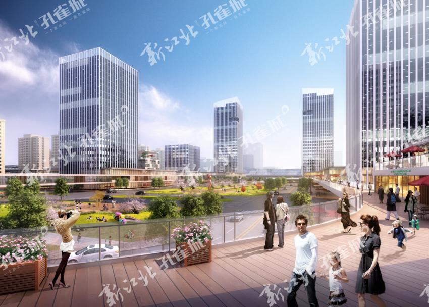 有一个地方叫新江北孔雀城,在这里可以把生活成诗