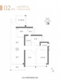 住宅B1栋02单元