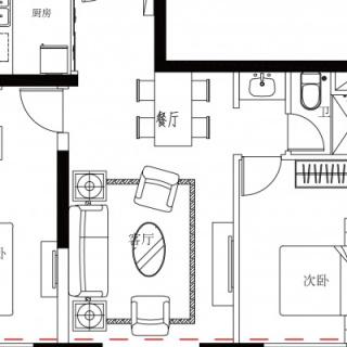 20#楼H2户型